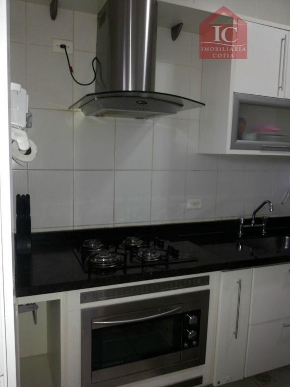 casa com 3 dormitórios à venda, 95 m² por r$ 430.000,00 - paisagem renoir - cotia/sp - ca1160