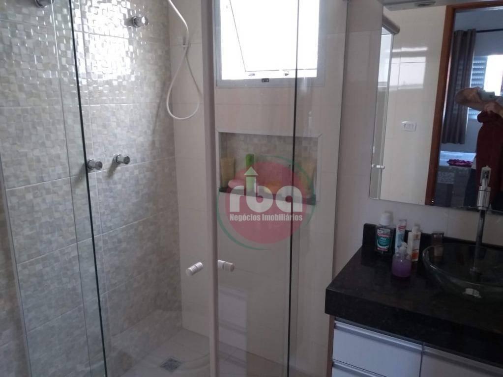casa com 3 dormitórios à venda, 96 m² por r$ 355.000,00 - condomínio horto florestal iii - sorocaba/sp - ca1633