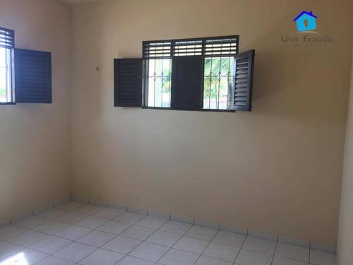 casa com 3 dormitórios à venda, de r$ 300.000 por r$ 260.000,00- praia do amor - conde/pb - ca0047