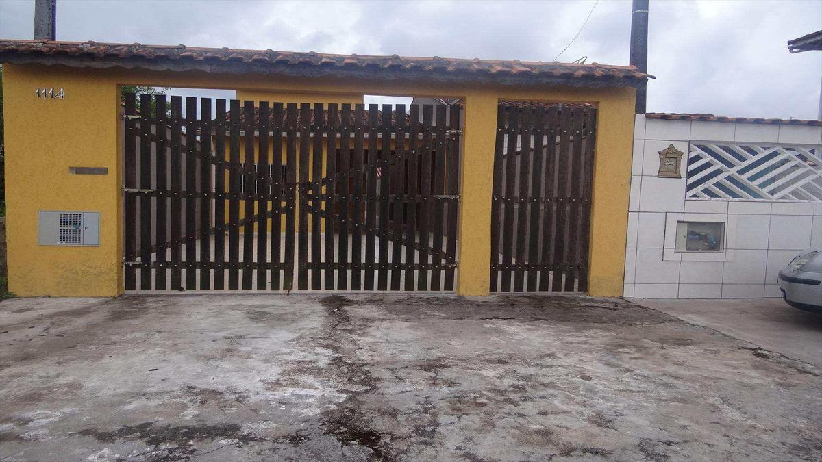 casa com 3 dorms, balneário itaguai, mongaguá - r$ 200 mil, cod: 6155 - v6155
