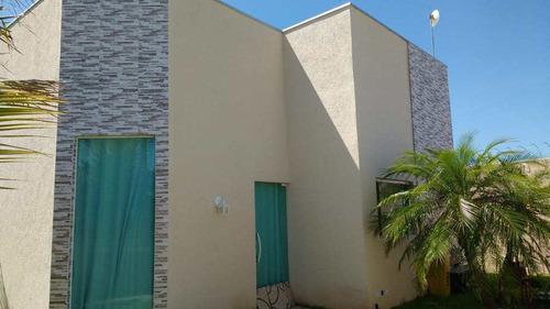 casa com 3 dorms, bopiranga, itanhaém - r$ 450 mil, cod: 56 - v56