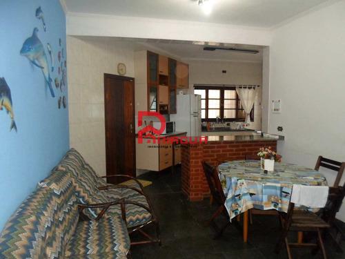 casa com 3 dorms, canto do forte, praia grande - r$ 700 mil, cod: 1082 - v1082