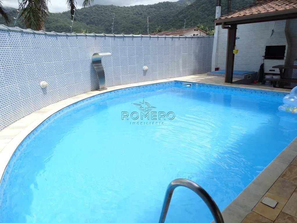 casa com 3 dorms, praia do sapê, ubatuba - r$ 600 mil, cod: 1203 - v1203