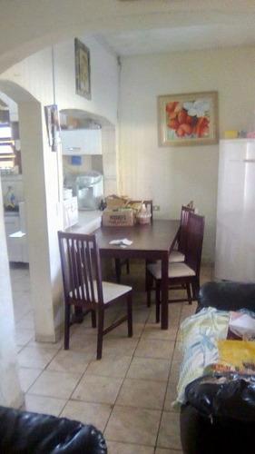 casa com 3 quartos em itanhaém-sp, lado praia - ref 4523-p