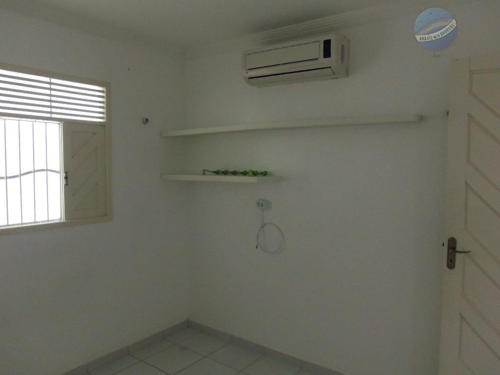 casa com 3 quartos, escritório, em excelente local de nova parnamirim - ca0032