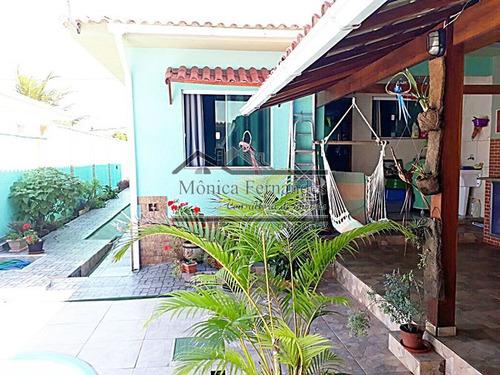 casa com 3 quartos (sendo 1 externo), piscina, sauna e receb