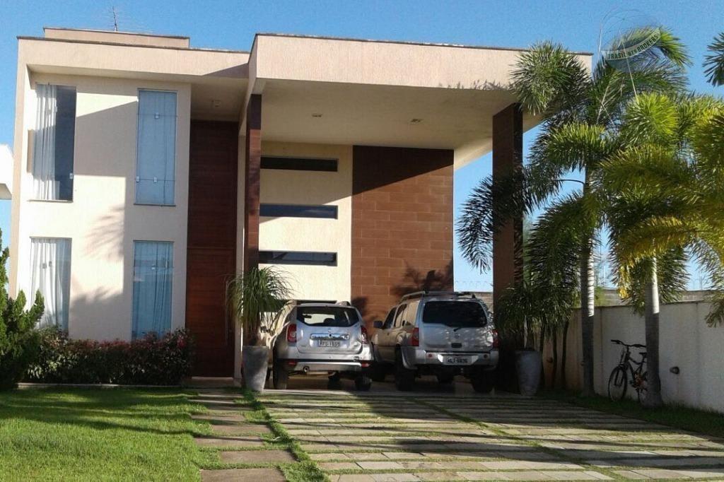 casa com 3 suítes, 240m², em condomínio fechado. aceita troca em apartamento - green club ii - ca0062