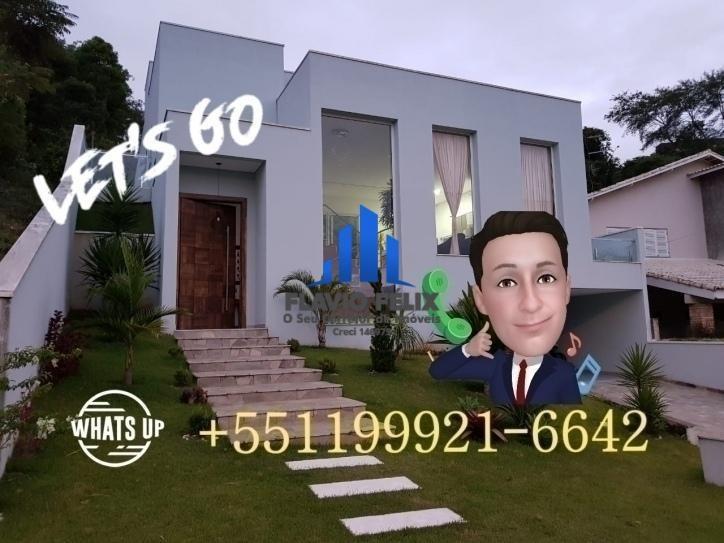 casa com 3 suítes 4 vagas pé direito duplo condominio arujá hills 3 - 377