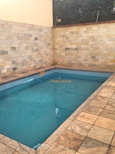 casa com 3 suítes, 5 vagas, e piscina, no bairro sagrada família, belo horizonte - 3833