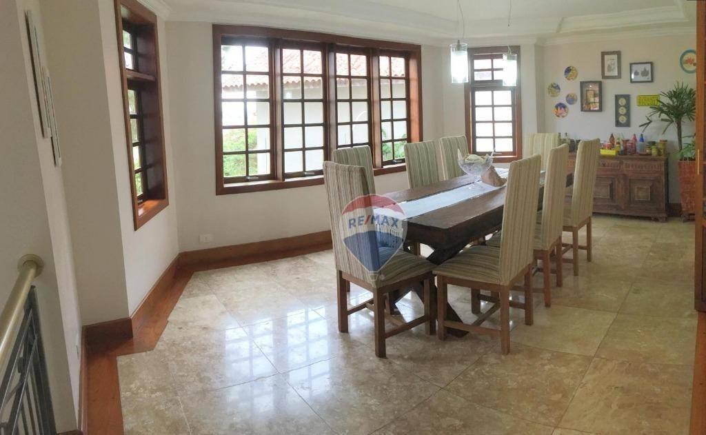 casa com 3 suítes para alugar (mobiliada), 400 m² por r$ 4.900/mês (pacote) - ca0110