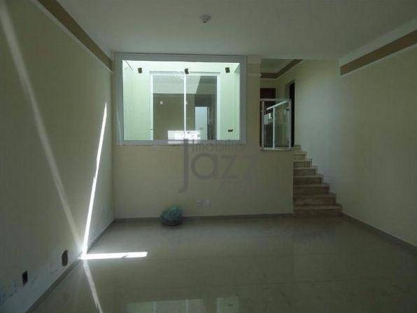 casa com 3 suítes à venda, 192 m² por r$ 765.000 - condomínio le village - valinhos/sp - ca5307