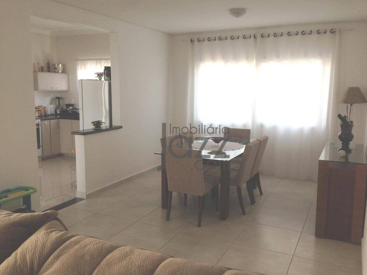 casa com 3 suítes à venda, 210 m² por r$ 915.000 - condomínio residencial portal do jequitiba - valinhos/sp - ca5306
