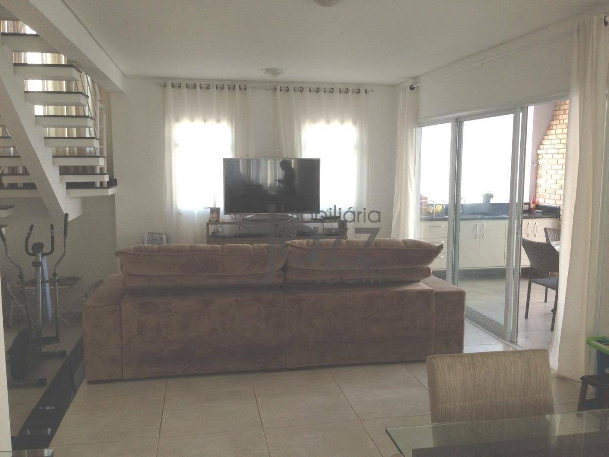 casa com 3 suítes à venda, 210 m² por r$ 920.000 - condomínio residencial portal do jequitiba - valinhos/sp - ca5306