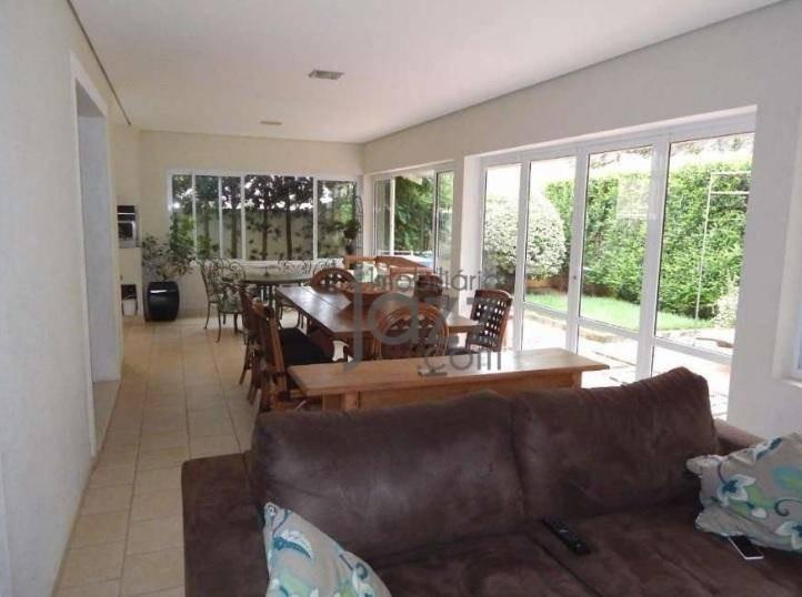 casa com 3 suítes à venda, 287 m² por r$ 1.370.000 - condomínio millenium - valinhos/sp - ca5304