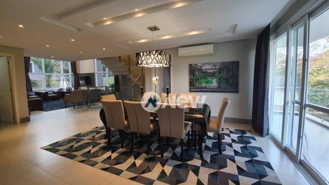 casa com 3 suítes à venda, 433 m² por r$ 1.900.000 - hamburgo  velho - novo hamburgo/rs - ca3080