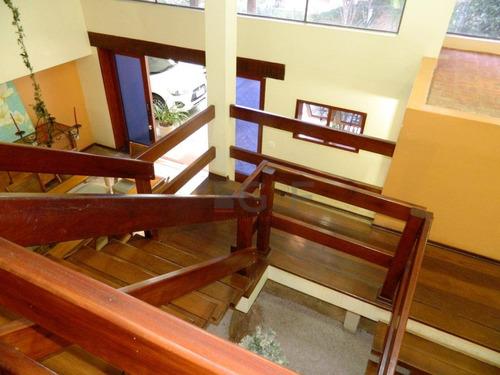 casa com 4 dormit/2 suítes à venda, 520 m² por r$ 2.750.000 - parque são quirino - campinas/sp - ca5994