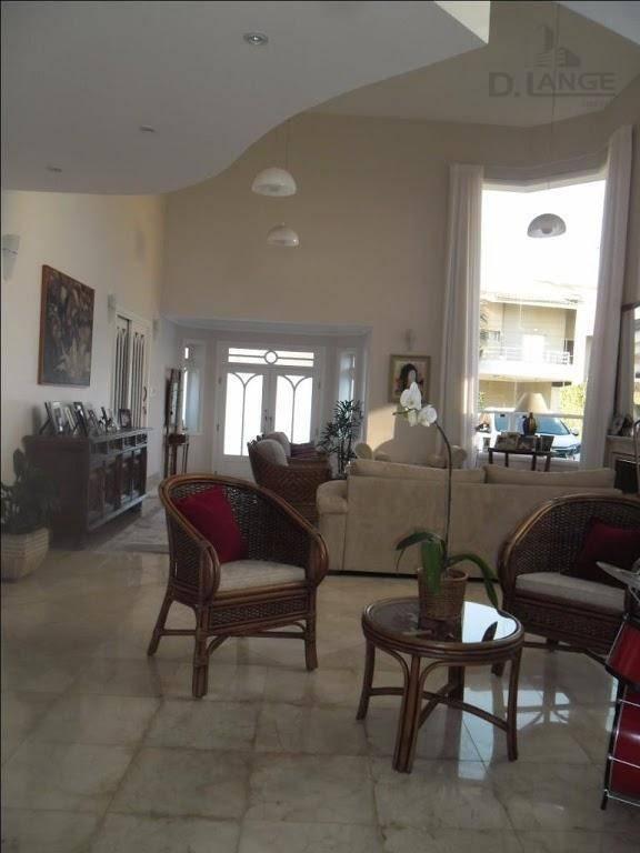 casa com 4 dormitórios( 4 suites) à venda, 400 m² por r$ 1.900.000 - loteamento residencial barão do café - campinas/sp - ca4695