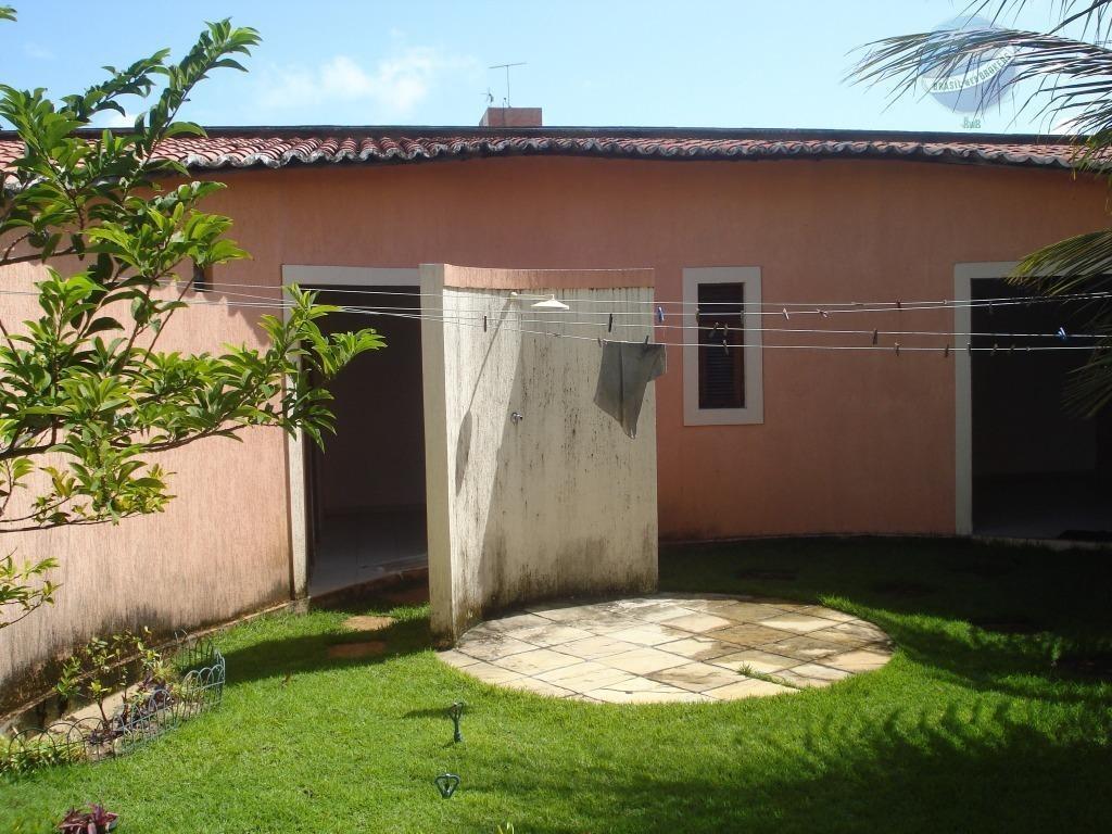 casa com 4 dormitórios na praia de cotovelo, em condomínio fechado - ca0079