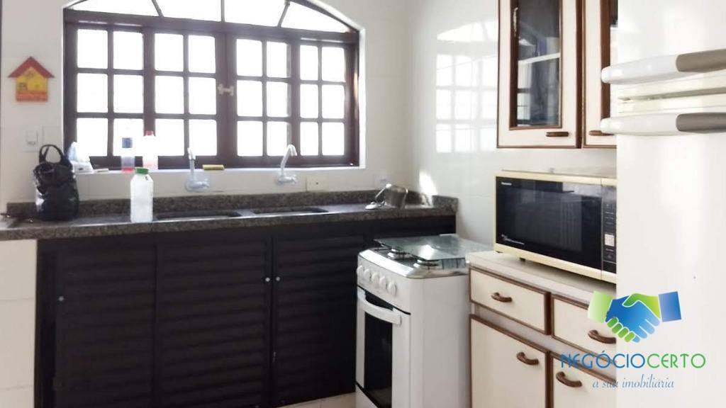 casa com 4 dormitórios para alugar, 100 m² por r$ 1.000/dia - suarão - itanhaém/sp - ca0076