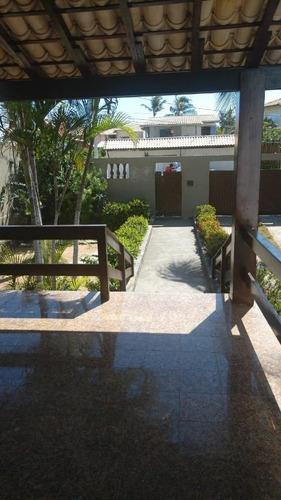 casa com 4 dormitórios para alugar, 150 m² por r$ 500/dia - praia do flamengo - salvador/ba - ca0029