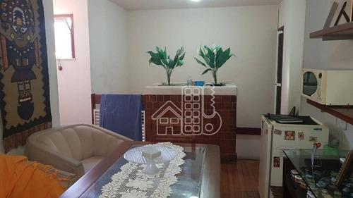 casa com 4 dormitórios para alugar, 249 m² por r$ 4.500,00/mês - são francisco - niterói/rj - ca1030