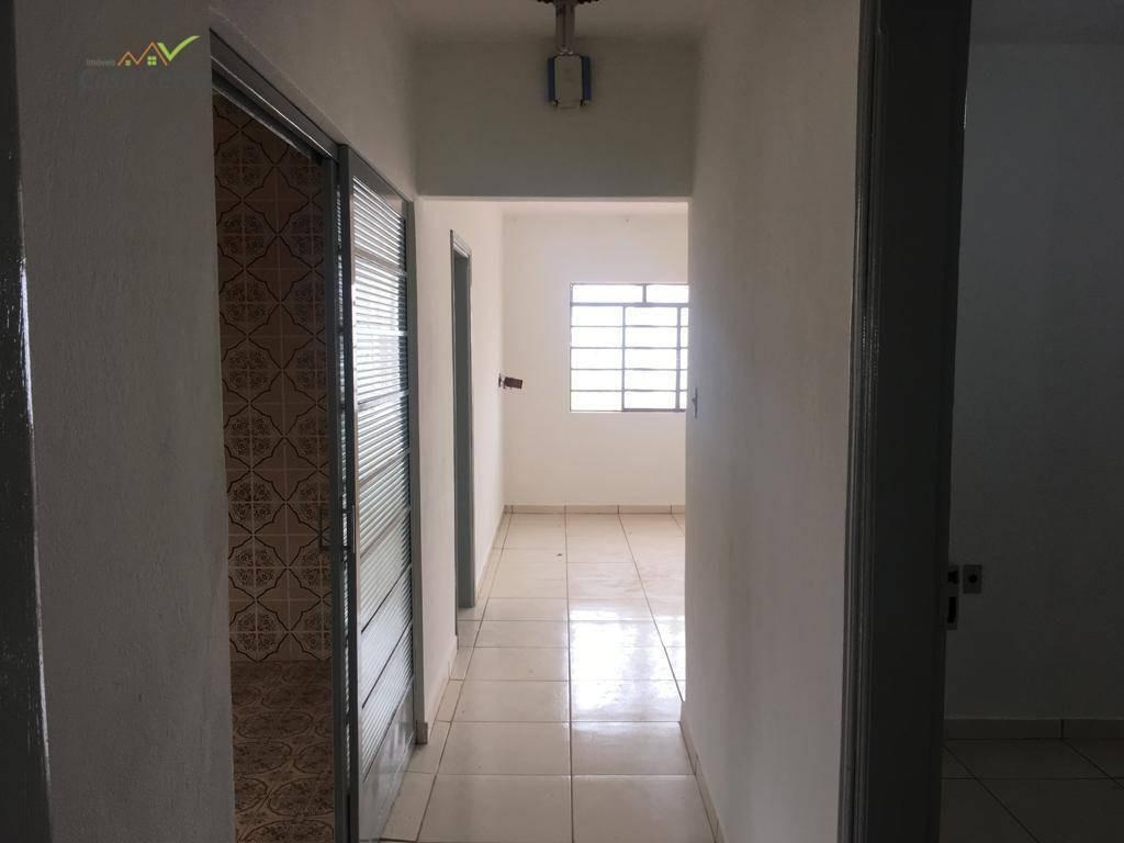 casa com 4 dormitórios para alugar, 250 m² por r$ 1.200,00/mês - vila são joão - mogi guaçu/sp - ca1395