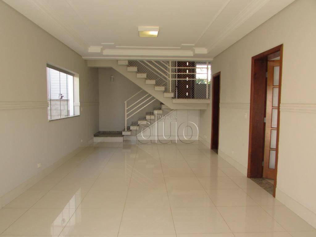 casa com 4 dormitórios para alugar, 270 m² por r$ 5.000/mês - terras de piracicaba - piracicaba/sp - ca2697