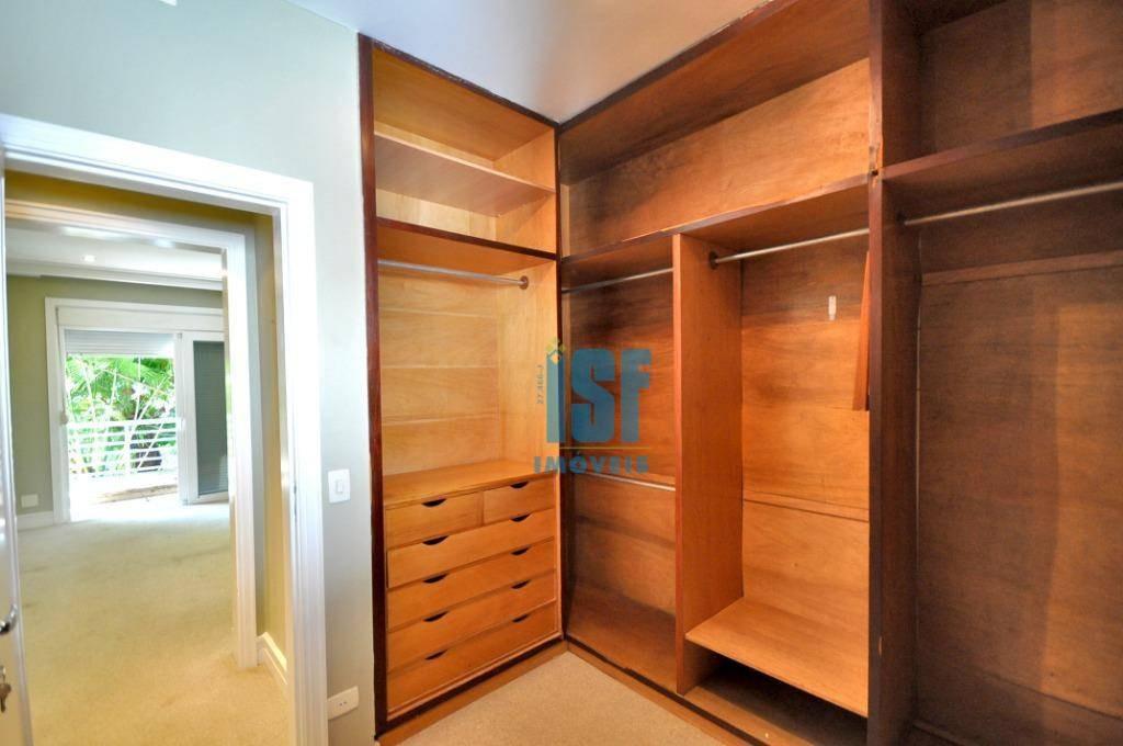 casa com 4 dormitórios para alugar, 297 m² por r$ 15.500/mês - alto de pinheiros - são paulo/sp - ca1339. - ca1339