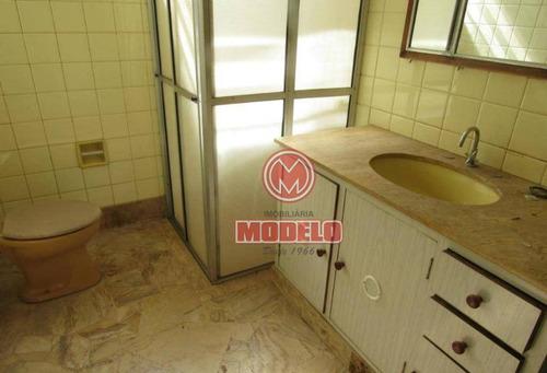 casa com 4 dormitórios para alugar, 300 m² por r$ 2.500/mês - alto - piracicaba/sp - ca2748