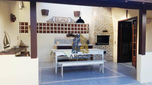 casa com 4 dormitórios para alugar, 300 m² por r$ 5.400/mês - lagoa da conceição - florianópolis/sc - ca0261