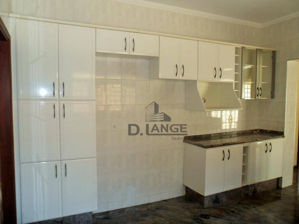 casa com 4 dormitórios para alugar, 314 m² por r$ 3.300,00/mês - jardim nova europa - campinas/sp - ca13442