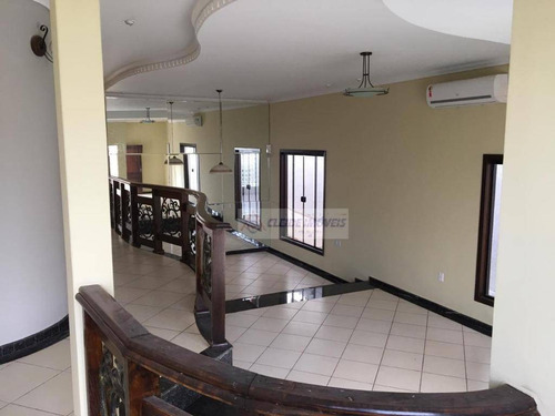 casa com 4 dormitórios para alugar, 318 m² por r$ 5.000,00/mês - ribeirão da ponte - cuiabá/mt - ca1130