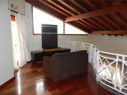 casa com 4 dormitórios para alugar, 350 m² por r$ 6.500/mês - condomínio millenium - valinhos/sp - ca3528