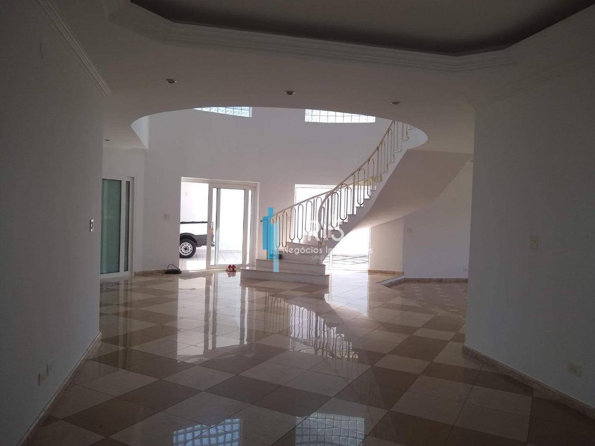 casa com 4 dormitórios para alugar, 398 m² por r$ 5.000,00/mês - condomínio villagio capriccio - louveira/sp - ca0373