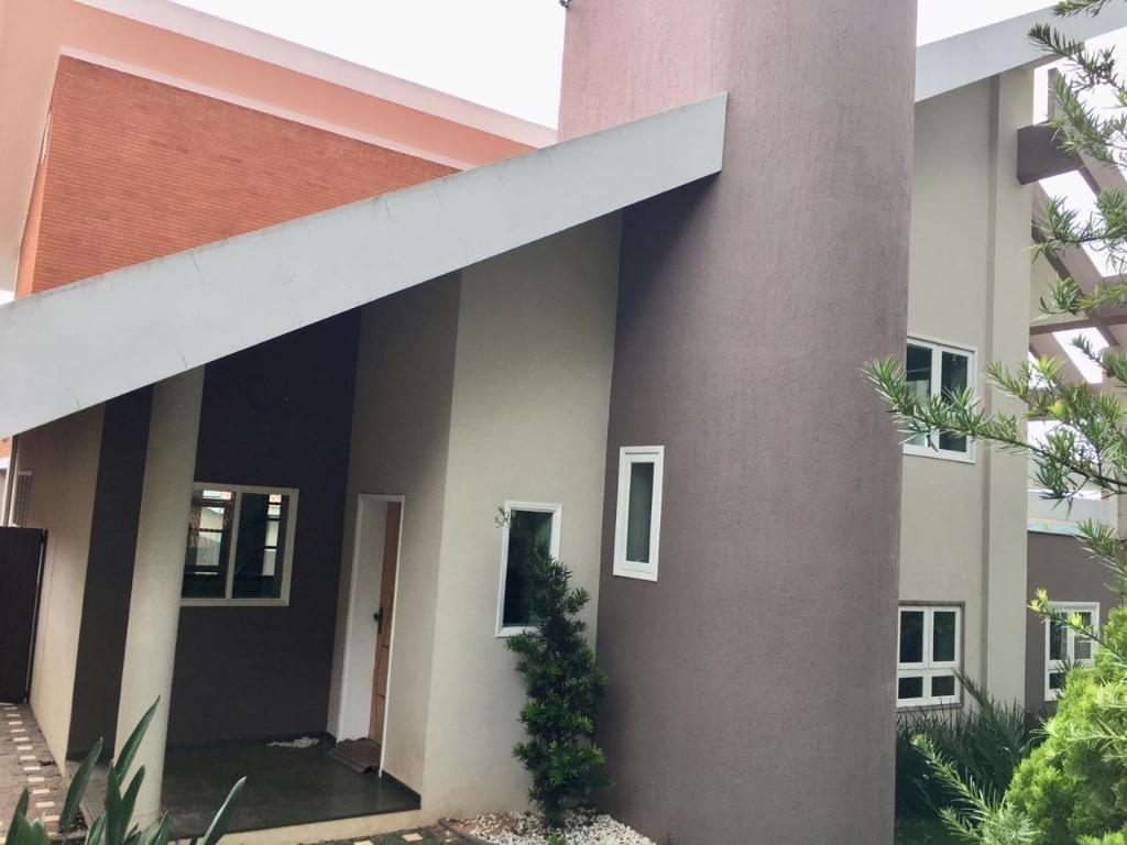 casa com 4 dormitórios para alugar, 411 m² por r$ 4.500,00/mês - vista alegre - vinhedo/sp - ca3137