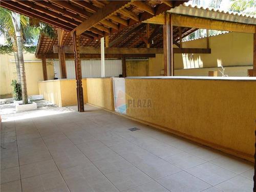 casa com 4 dormitórios para alugar, 450 m² por r$ 6.000/mês - canto do forte - praia grande/sp - ca3014