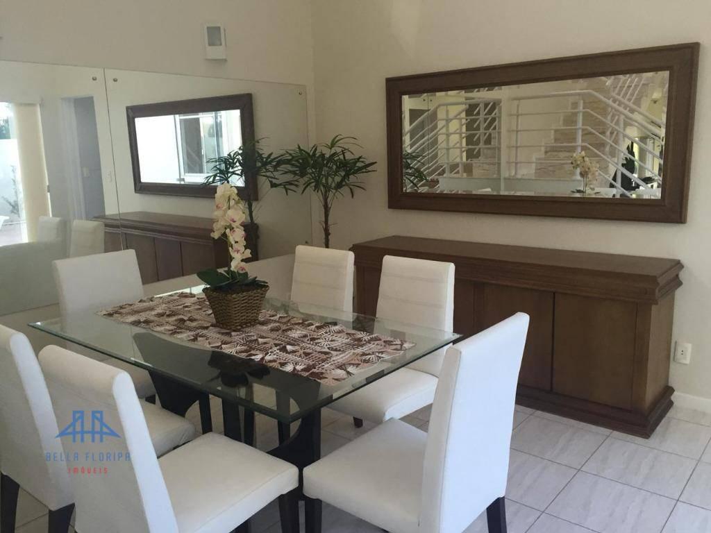 casa com 4 dormitórios para alugar r$ 1.200/dia - cachoeira do bom jesus - florianópolis/sc - ca0286