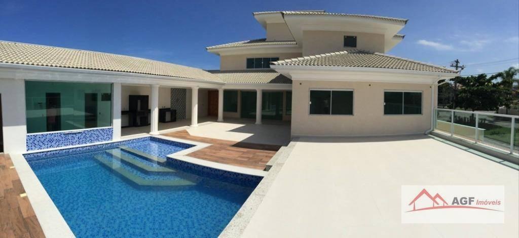 casa com 4 dormitórios à venda, 1000 m² por r$ 5.250.000 - camboinhas - niterói/rj - ca0134