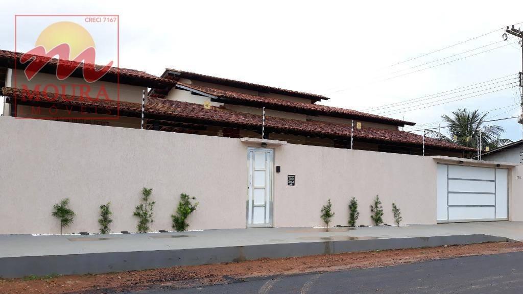 casa com 4 dormitórios à venda, 114 m² por r$ 430.000 - renascer - macapá/ap - ca0440