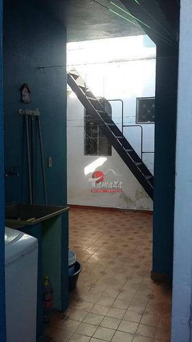 casa com 4 dormitórios à venda, 150 m² por r$ 430.000 - jardim cotinha - são paulo/sp - ca0496