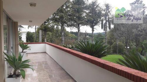 casa com 4 dormitórios à venda, 1500 m² por r$ 4.500.000 - jardim caxambu - jundiaí/sp - ca1899