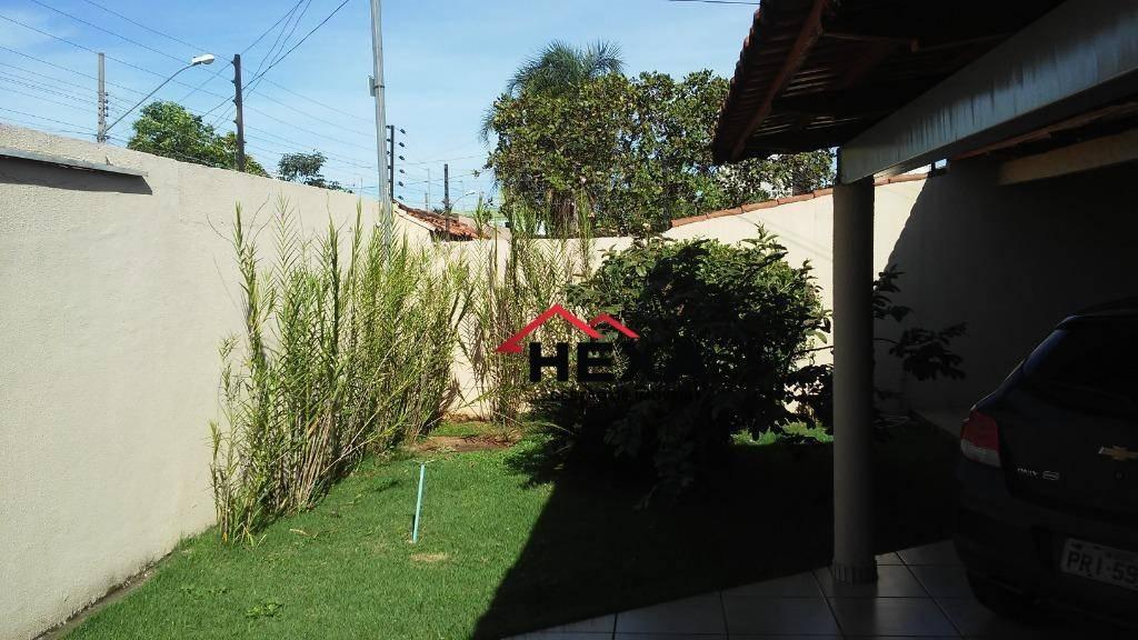 casa com 4 dormitórios à venda, 156 m² por r$ 369.000,00 - parque amazônia - goiânia/go - ca0408