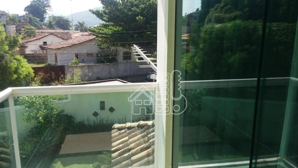 casa com 4 dormitórios à venda, 180 m² por r$ 645.000,00 - itaipu - niterói/rj - ca0941