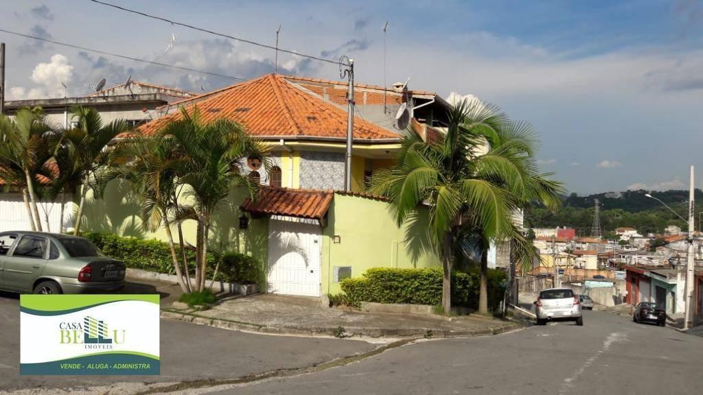 casa com 4 dormitórios à venda, 190 m² por r$ 4.500 - serpa - caieiras/sp - ca0369