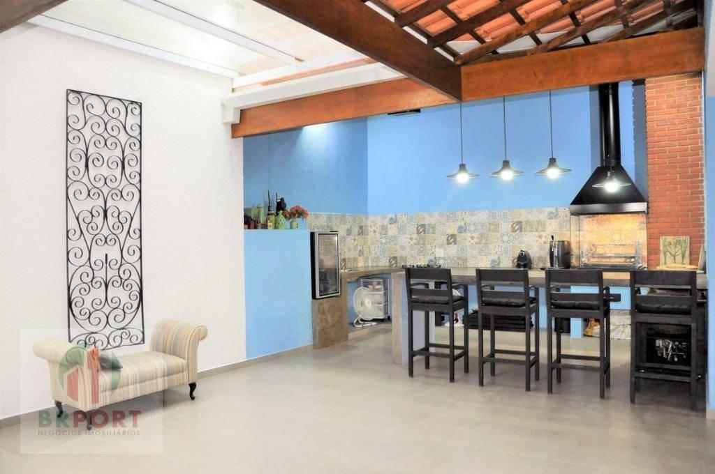 casa com 4 dormitórios à venda, 198 m² por r$ 757.000,00 - granja viana - cotia/sp - ca0194