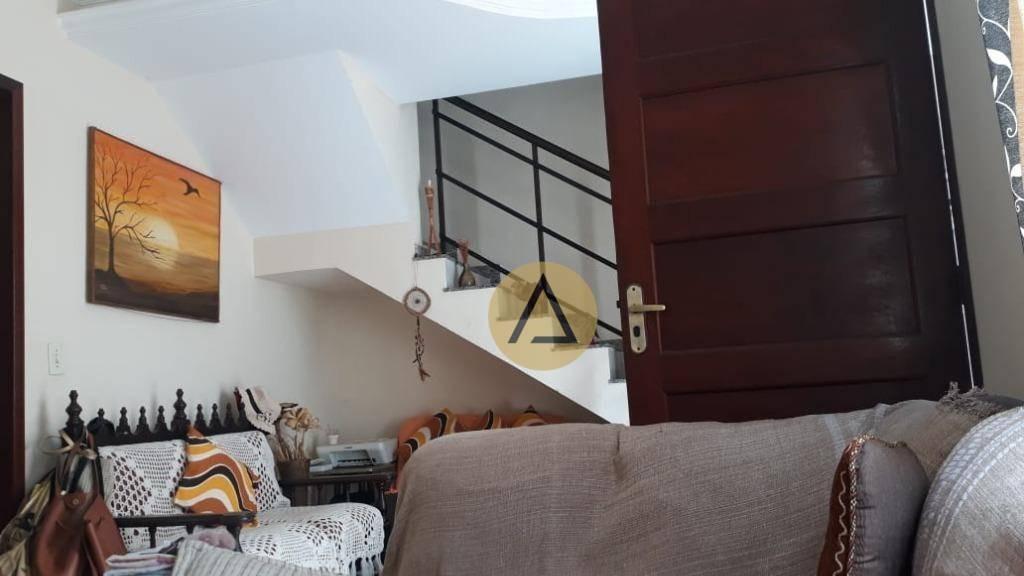 casa com 4 dormitórios à venda, 200 m² por r$ 450.000 - jardim vitória - macaé/rj - ca1134