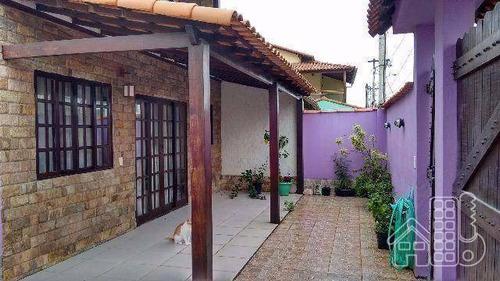 casa com 4 dormitórios à venda, 201 m² por r$ 430.000 - arsenal - são gonçalo/rj - ca0209