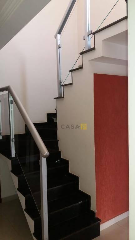 casa com 4 dormitórios à venda, 220 m² por r$ 990.000 - jardim primavera - nova odessa/sp - ca0629