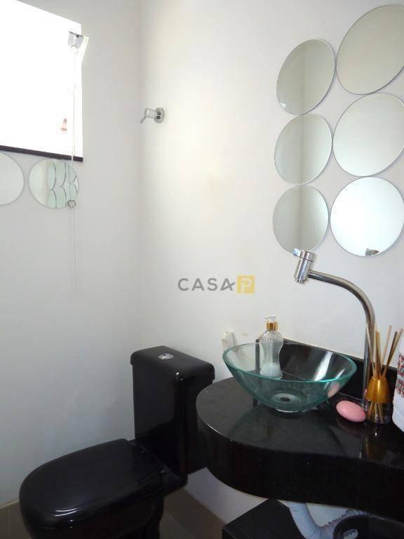 casa com 4 dormitórios à venda, 224 m² por r$ 998.000,00 - jardim primavera - nova odessa/sp - ca0564