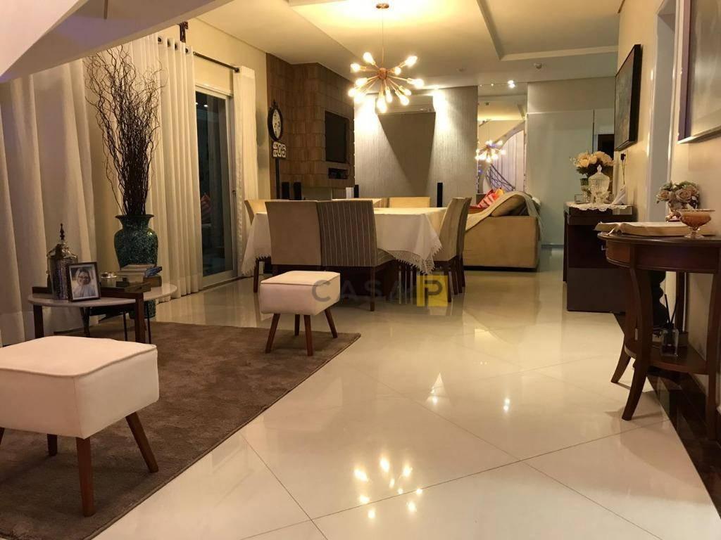 casa com 4 dormitórios à venda, 228 m² por r$ 1.250.000,00 - jardim primavera - nova odessa/sp - ca0472
